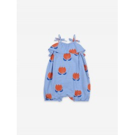 BOBO CHOSES Romperis BABY CHOCOLATE FLOWER ALL OVER