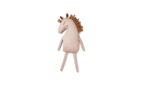 FERM LIVING KIDS|Dekoratyvinė pagalvėlė|HORSE DUSTY ROSE