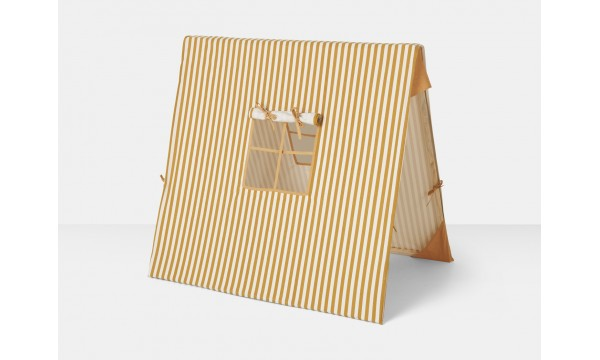 FERM LIVING KIDS|Palapinė|STRIPED MUSTARD