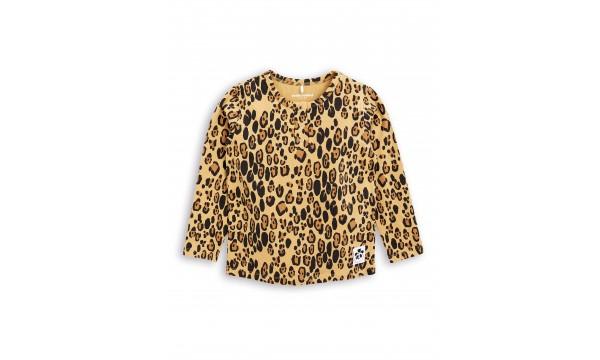 MINI RODINI|Marškinėliai ilgomis rankovėmis|LEOPARD BASIC