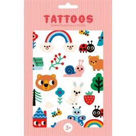 PETIT MONKEY|Tatuiruočių rinkinys|NATURE FRIENDS
